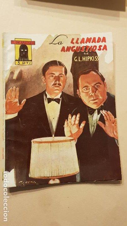 G.L.HIPKISS-LA LLAMADA ANGUSTIOSA (Tebeos y Comics - Cliper - Otros)