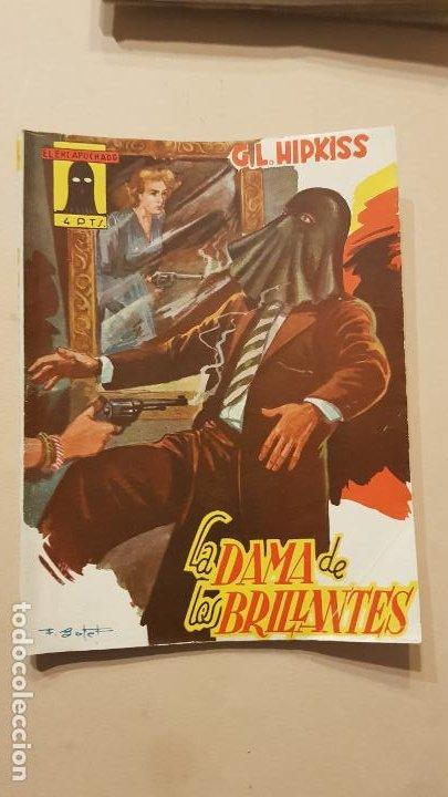 G.L.HIPKISS-LA DAMA DE LOS BRILLANTES (Tebeos y Comics - Cliper - Otros)