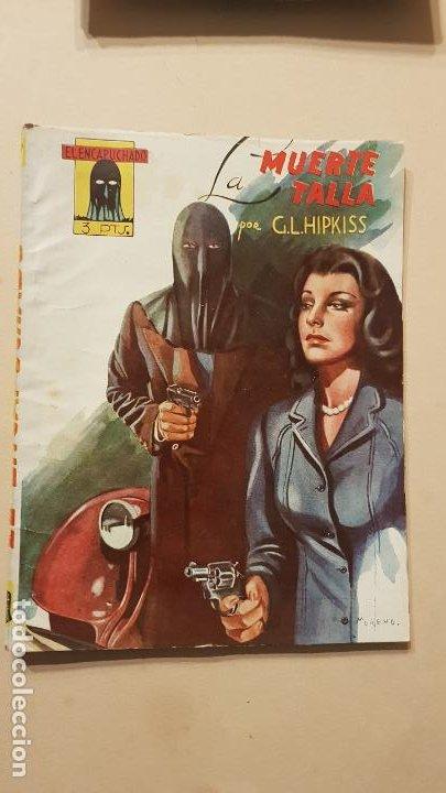 G.L.HIPKISS-LA MUERTE TALLA (Tebeos y Comics - Cliper - Otros)