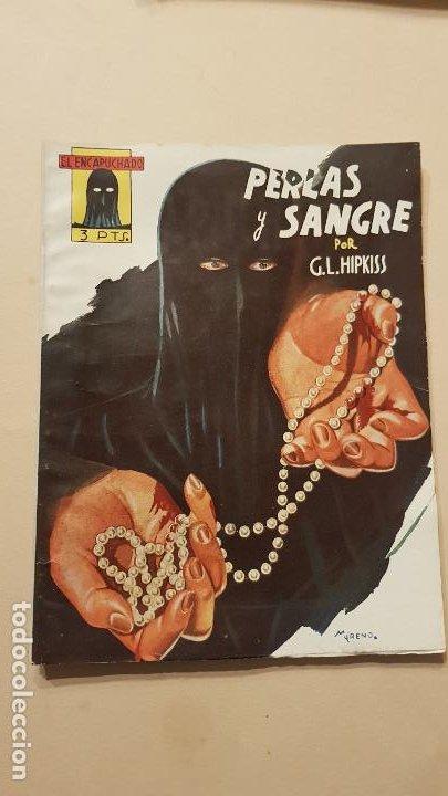 G.L.HIPKISS-PERLAS Y SANGRE (Tebeos y Comics - Cliper - Otros)
