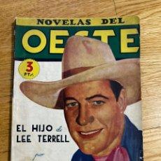 Tebeos: NOVELAS DEL OESTE EL HIJO DE LEE TERRELL NÚMERO 27. Lote 186462187