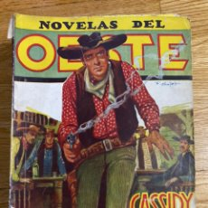 Tebeos: NOVELAS DEL OESTE CASSIDY EL SOLITARIO NÚMERO 80. Lote 186462373