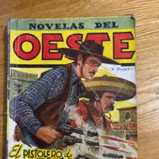 Tebeos: NOVELAS DEL OESTE EL PISTOLERO DE NUEVO MÉJICO. Lote 186462557