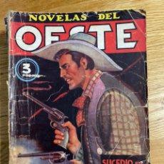 Tebeos: NOVELAS DEL OESTE SUCEDIÓ EN EL OESTE. Lote 186462635