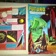 Tebeos: COMIC: FUTURO-REVISTA DE LAS RUTAS DEL ESPACIO. REEDICION AGOTADA CIENCIA FICCION ESPAÑA 1957. Nº 14. Lote 188818407