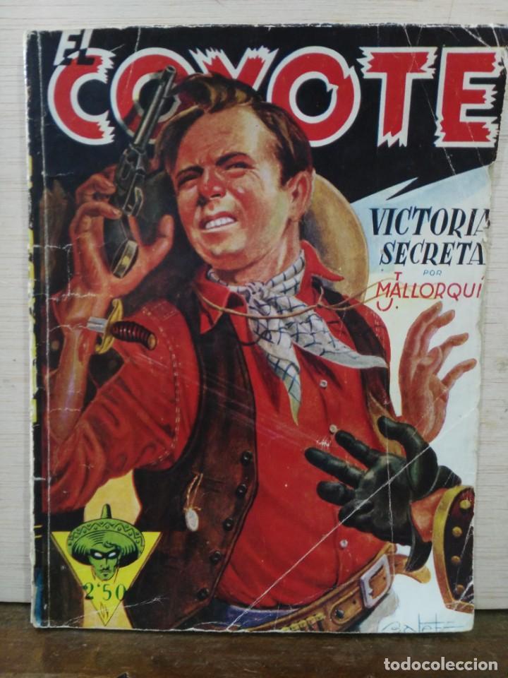 EL COYOTE - Nº 7, VICTORIA SECRETA - ED. CLIPER (Tebeos y Comics - Cliper - El Coyote)