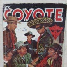 Tebeos: EL COYOTE - Nº 20, LA HACIENDA TRÁGICA - ED. CLIPER. Lote 189355585