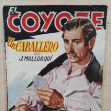 Tebeos: EL COYOTE - Nº 38, UN CABALLERO - ED. CLIPER. Lote 189359725