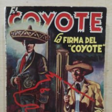 Tebeos: EL COYOTE - Nº 41, LA FIRMA DEL COYOTE - ED. CLIPER. Lote 189360017