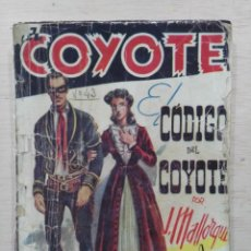 Tebeos: EL COYOTE - Nº 43, EL CÓDIGO DEL COYOTE - ED. CLIPER. Lote 189360221