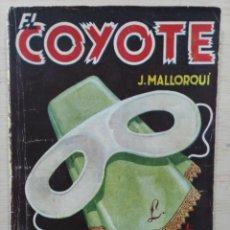 Tebeos: EL COYOTE - Nº 44, MASCARA BLANCA - ED. CLIPER. Lote 189360445