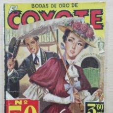 Tebeos: EL COYOTE - Nº 50, LUCES DE CALIFORNIA - ED. CLIPER. Lote 189365782