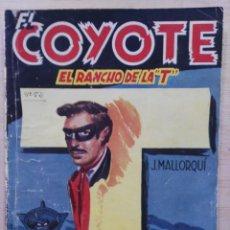 Tebeos: EL COYOTE - Nº 52, EL RANCHO DE LA T - ED. CLIPER. Lote 189366476