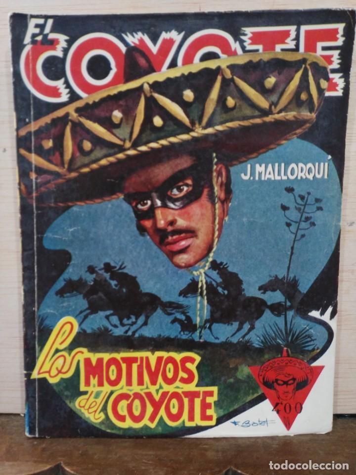 EL COYOTE - Nº 65, LOS MOTIVOS DEL COYOTE - ED. CLIPER (Tebeos y Comics - Cliper - El Coyote)