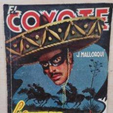 Tebeos: EL COYOTE - Nº 65, LOS MOTIVOS DEL COYOTE - ED. CLIPER. Lote 189392951