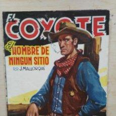 Tebeos: EL COYOTE - Nº 74, EL HOMBRE DE NINGÚN SITIO - ED. CLIPER. Lote 189393545