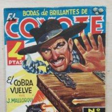Tebeos: EL COYOTE - Nº 75, EL COBRA VUELVE - ED. CLIPER. Lote 189393562
