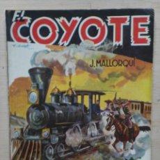 Tebeos: EL COYOTE - Nº 80, MUERTE: PUNTO DE DESTINO - ED. CLIPER. Lote 189393813