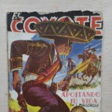 Tebeos: EL COYOTE - Nº 87, APOSTANDO SU VIDA - ED. CLIPER. Lote 189394148