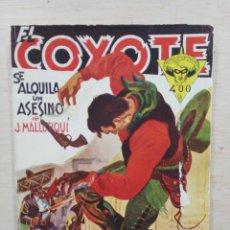 Tebeos: EL COYOTE - Nº 88, SE ALQUILA UN ASESINO - ED. CLIPER. Lote 189394213