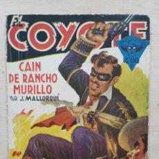 Tebeos: EL COYOTE - Nº 89, CAIN DE RANCHO MURILLO - ED. CLIPER. Lote 189394267