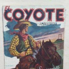 Tebeos: EL COYOTE - Nº 106, CARNE DE HORCA - ED. CLIPER. Lote 189395325