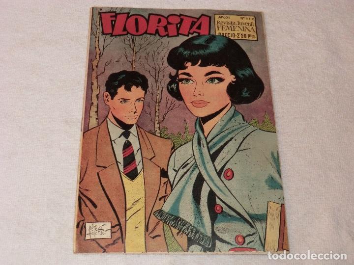 FLORITA 512 (Tebeos y Comics - Cliper - Florita)