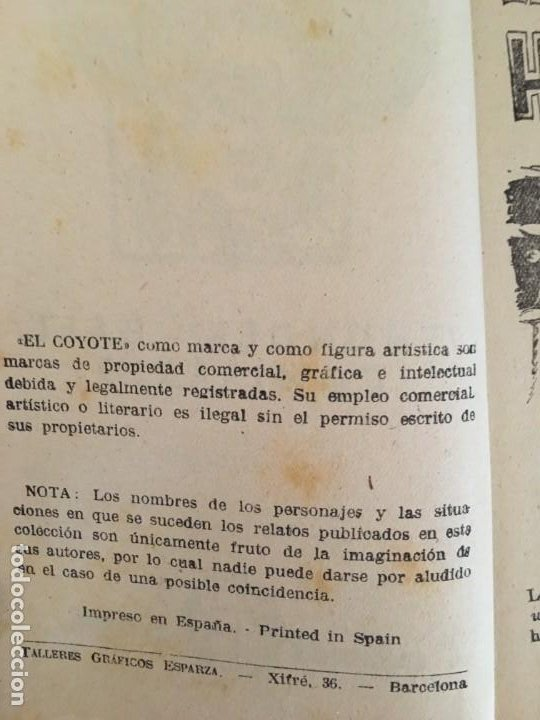 Tebeos: Colección 38 números (no completa) NUEVO COYOTE J. MALLORQUÍ Ed. Cliper - Foto 14 - 190727191