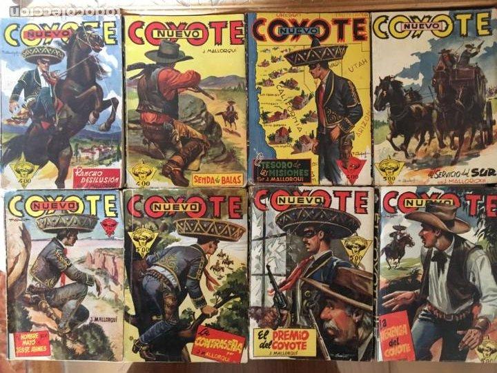COLECCIÓN 38 NÚMEROS (NO COMPLETA) NUEVO COYOTE J. MALLORQUÍ ED. CLIPER (Tebeos y Comics - Cliper - El Coyote)