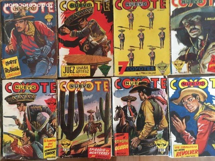 Tebeos: Colección 38 números (no completa) NUEVO COYOTE J. MALLORQUÍ Ed. Cliper - Foto 5 - 190727191