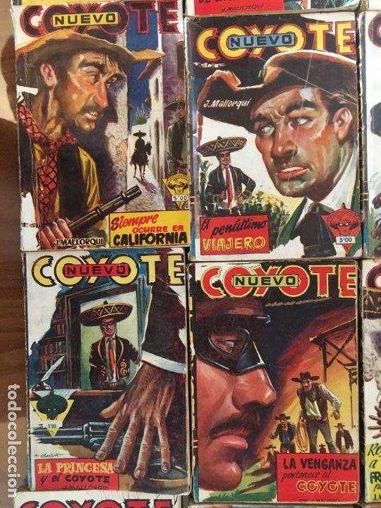 Tebeos: Colección 38 números (no completa) NUEVO COYOTE J. MALLORQUÍ Ed. Cliper - Foto 9 - 190727191