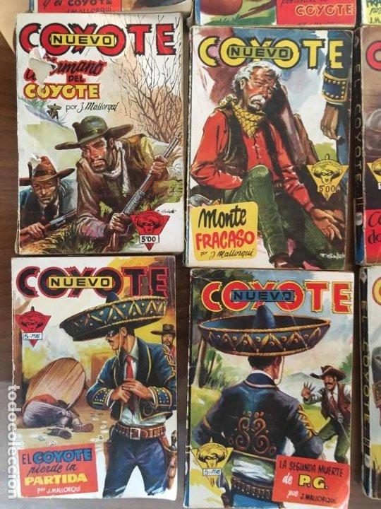 Tebeos: Colección 38 números (no completa) NUEVO COYOTE J. MALLORQUÍ Ed. Cliper - Foto 10 - 190727191