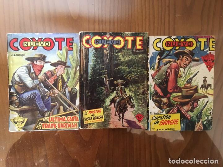 Tebeos: Colección 38 números (no completa) NUEVO COYOTE J. MALLORQUÍ Ed. Cliper - Foto 11 - 190727191