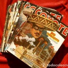 Tebeos: EL COYOTE - LOTE 12 EJEMPLARES (1ª EDICION ORIGINAL) J. MALLORQUÍ - EDICIONES CLIPER. Lote 191121501