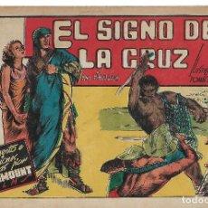 Tebeos: EL SIGNO DE LA CRUZ - ORIGINAL. Lote 191288841