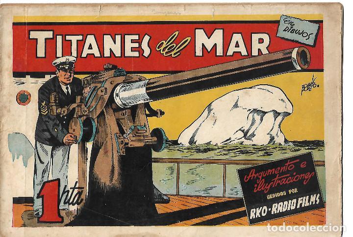 TITANES DEL MAR - ORIGINAL (Tebeos y Comics - Cliper - Otros)