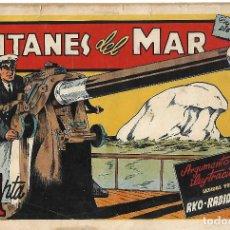 Tebeos: TITANES DEL MAR - ORIGINAL. Lote 191289345