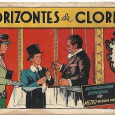 Tebeos: HORIZONTES DE GLORIA - ORIGINAL. Lote 191289568