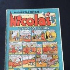 Tebeos: NICOLÁS Nº 1 (CLÍPER, 1948). Lote 191469082