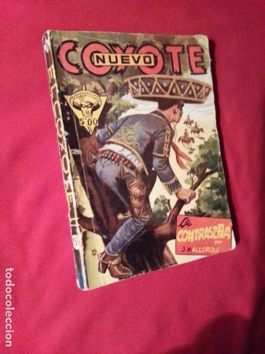 LA CONTRASEÑA - J. MALLORQUI - NUEVO COYOTE 26 (156) (Tebeos y Comics - Cliper - El Coyote)