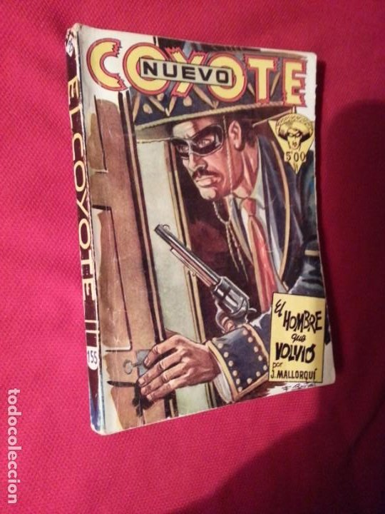 EL HOMBRE QUE VOLVIO - J. MALLORQUI - NUEVO COYOTE 25 (155) (Tebeos y Comics - Cliper - El Coyote)
