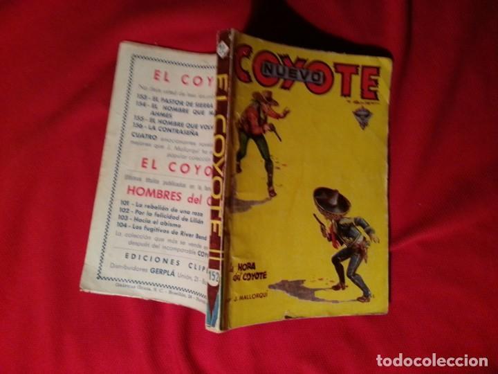 LA HORA DEL COYOTE - J. MALLORQUI - NUEVO COYOTE 22 /152) (Tebeos y Comics - Cliper - El Coyote)