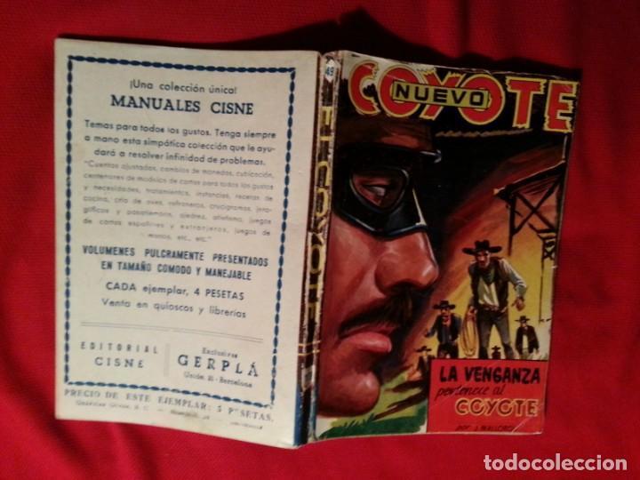 LA VENGANZA PERTENECE AL COYOTE - J. MALLORQUI - NUEVO COYOTE 49 (179) (Tebeos y Comics - Cliper - El Coyote)