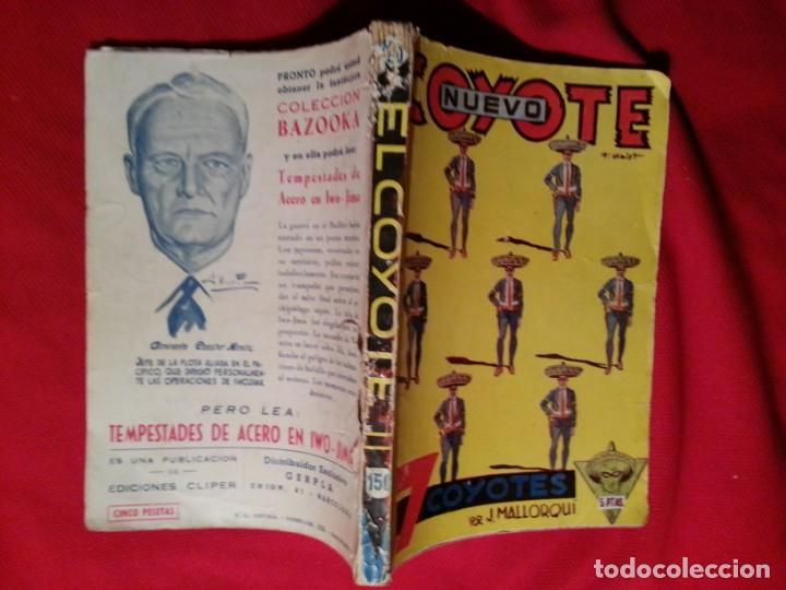 7 COYOTES - J. MALLORQUI - NUEVO COYOTE 20 (150) (Tebeos y Comics - Cliper - El Coyote)