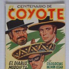 Tebeos: CENTENARIO DE EL COYOTE EXTRAORDINARIO Nº 100 - J. MALLORQUÍ - LA DE LAS FOTOS. Lote 191684621
