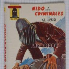 Tebeos: EL ENCAPUCHADO Nº 6 - NIDO DE CRIMINALES - EDICIONES CLIPER 1946 - LA DE LAS FOTOS. Lote 191686610