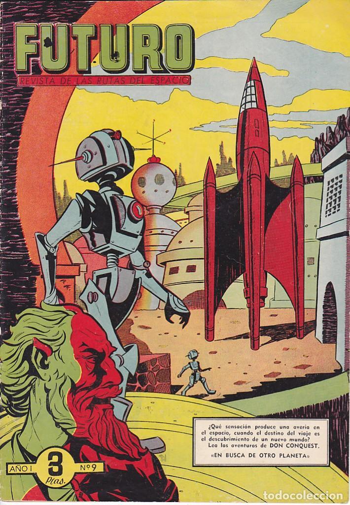 COMIC COLECCION FUTURO Nº º 9 (Tebeos y Comics - Cliper - Otros)