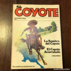 Tebeos: EL COYOTE. LA SOMBRA DEL COYOTE. EL COYOTE ACORRALADO - J. MALLORQUÍ. Lote 193179941
