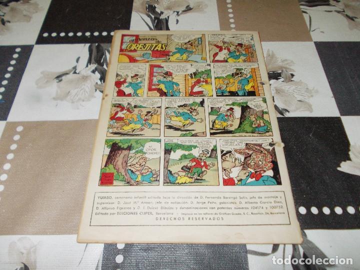 Tebeos: Yumbo año 1 nº 6. 1953. Cliper - Foto 2 - 193343267