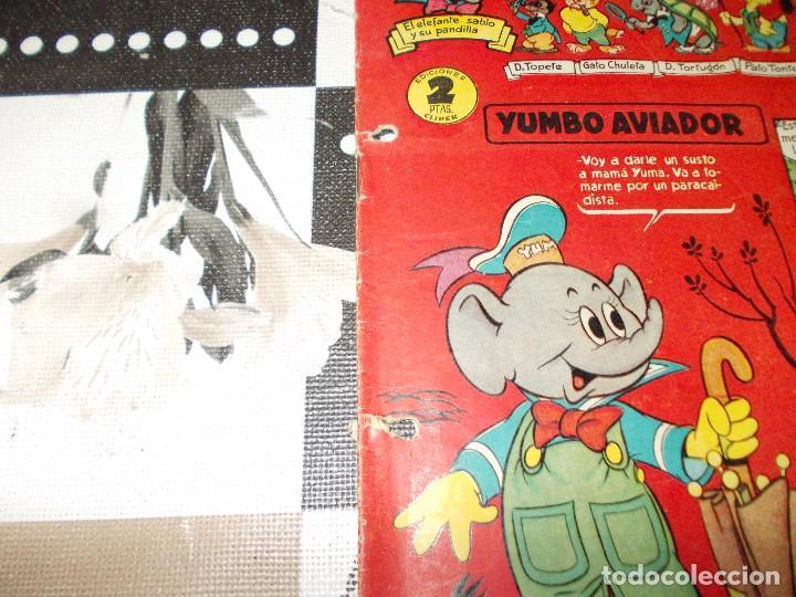Tebeos: Yumbo año 1 nº 6. 1953. Cliper - Foto 3 - 193343267